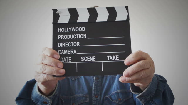 clapboard - movie studio stock videos and b-roll footage