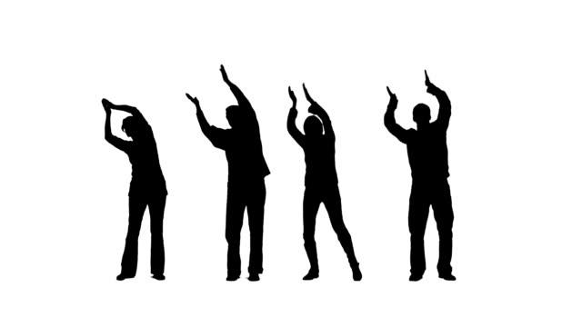 vídeos y material grabado en eventos de stock de aplaudir las personas - ovacionar
