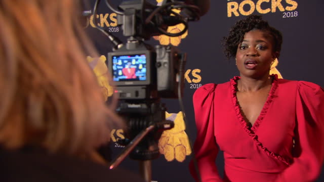 vidéos et rushes de clara amfo at bbc children in need rocks - charity concert on november 7, 2018 in london, england. - bbc children in need