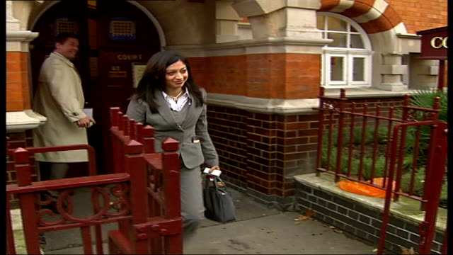 Inquest into police handling of stalker London Westminster Coroners Court Bibi Shah leaving court