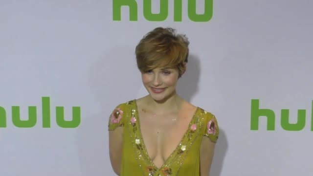 Clare Bowen at the 2017 Winter Television Critics Association Tour Hulu Press Day at Langham Hotel on January 07 2017 in Pasadena California