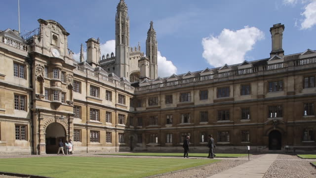 clare college, cambridge, cambridgeshire, england, uk, europe - 2014 stock videos & royalty-free footage