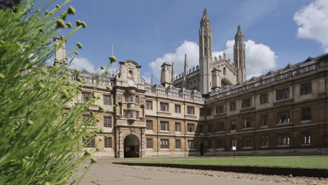 clare college, cambridge, cambridgeshire, england, uk, europe - cambridge university stock videos and b-roll footage