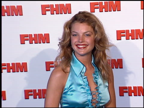Clare Kramer at the FHM Magazine 100 Sexiest Women at La Boheme in West Hollywood California on May 17 2001