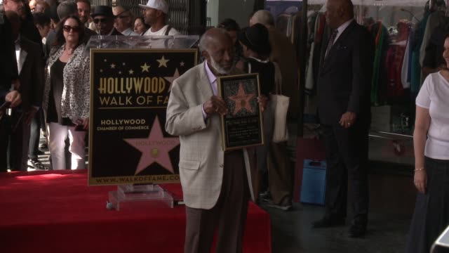 clean clarence avant honored with star on the hollywood walk of fame on october 07 2016 in hollywood california - bill withers stock videos & royalty-free footage