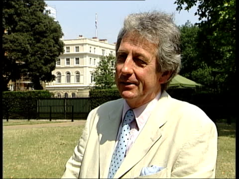 clarence house renovation itn robert lacey interviewed sot worth the money spent/ we are the landlord and prince charles is our tenant clarence house... - tenant stock videos & royalty-free footage