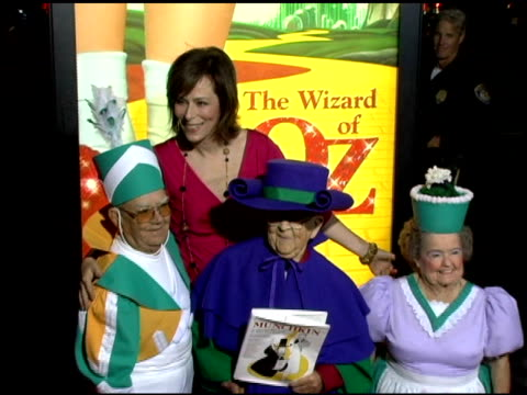 Clarence Swenson Jane Kaczmarek Meinhardt Raabe and Margaret Pellegrini at the 'Wizard Of Oz' Ruby Red Slipper DVD Gala Screening arrivals at Academy...