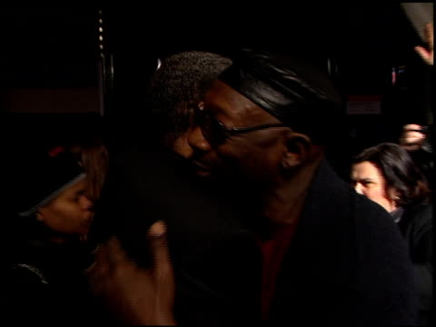 clarence williams iii at the 'reindeer games' premiere at the el capitan theatre in hollywood california on february 21 2000 - el capitan theatre stock videos & royalty-free footage