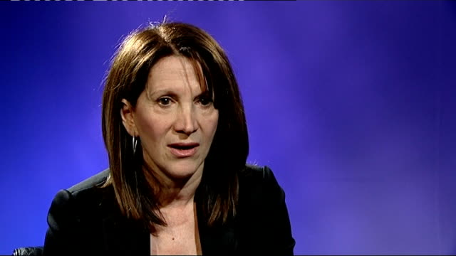 'clare's law' trials launched to combat domestic violence london int lynne featherstone mp interview sot it's about whether your partner has a past... - mp stock-videos und b-roll-filmmaterial