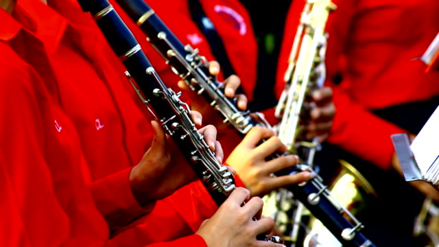 clarinets - singing contest stock videos and b-roll footage