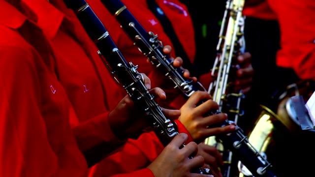 clarinets - clarinet stock videos & royalty-free footage