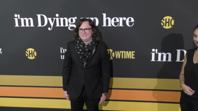 clark duke at the premiere of showtime's 'i'm dying up here' arrivals on may 31 2017 in los angeles california - showtime video stock e b–roll