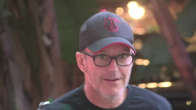 Clark Gregg arrives at the Clippers vs Rockets Game 6 at the Staples Center in Los Angeles Celebrity Sightings in Los Angeles on May 14 2015 in Los...