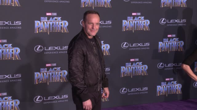 Clark Gregg at the Marvel Studios' 'Black Panther' World Premiere at Dolby Theatre on January 29 2018 in Hollywood California