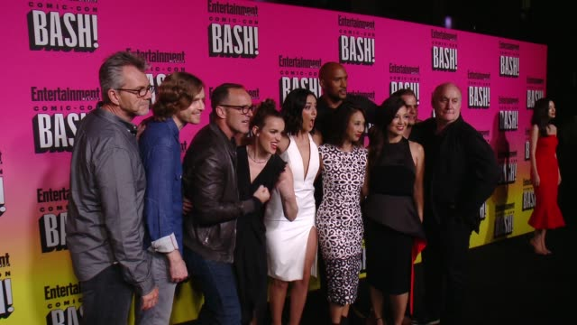 Clark Gregg Chloe Bennet at Entertainment Weekly Hosts Annual ComicCon Celebration in San Diego CA