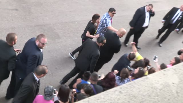 clark gregg greets fans at the 2014 comic con panel in san diego in celebrity sightings in san diego - san diego comic con stock videos and b-roll footage