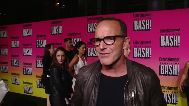 INTERVIEW Clark Gregg on his ComicCon experience and why he wanted to celebrate the last night with EW at Entertainment Weekly Hosts Annual ComicCon...