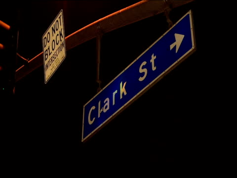 Clark Street sign Sunset Strip