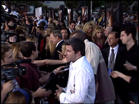 clarke duncan at the 'swat' premiere on july 30, 2003. - s.w.a.t. film title stock videos & royalty-free footage