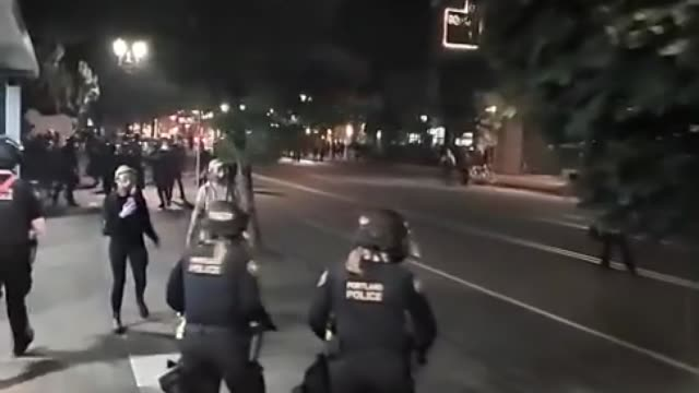 clashes between anti-racism protesters and right-wing demonstrators in portland turned violent over the weekend, forcing federal police to intervene.... - protestor stock videos & royalty-free footage