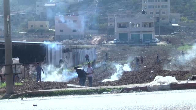 Clashes between Palestinian protesters and Israeli forces erupted on Friday in the village of Qusra in the occupied West Bank one day after the...