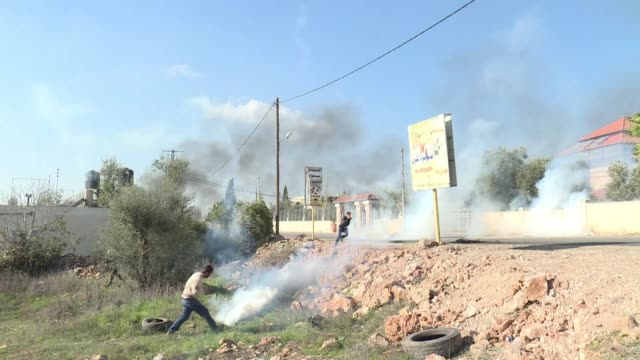 Clashes erupted on Friday in Silwad north of Ramallah in the occupied West Bank between Palestinians and Israeli security forces after some residents...