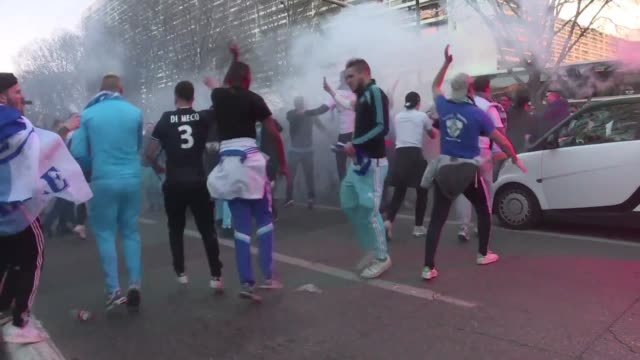 Clashes erupts in Marseille ahead of OMPSG match