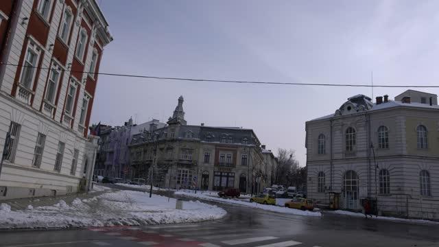 classic architecture of the city of ruse, bulgaria - pavel gospodinov stock videos & royalty-free footage