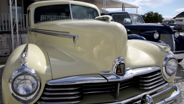 ms cu pan classic cars / wickenburg,arizona,usa - collector's car stock videos and b-roll footage