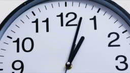 Classic clock time lapse 1:00 [001]
