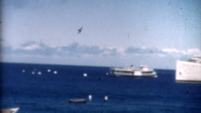 stockvideo's en b-roll-footage met classic cruise ship 1930's - 1930