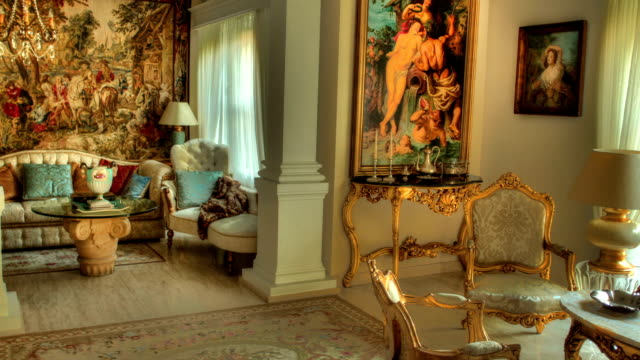 classic style living room time lapse - classical stock videos & royalty-free footage
