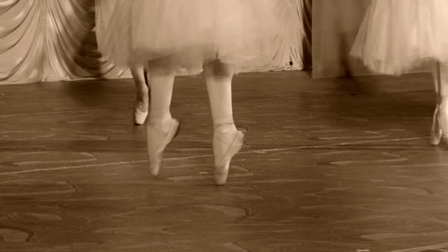 classical ballet - dance at their fingertips - en pointe stock videos and b-roll footage