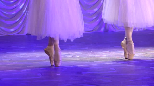 classical ballet - dance at their fingertips - ballet performance stock videos & royalty-free footage