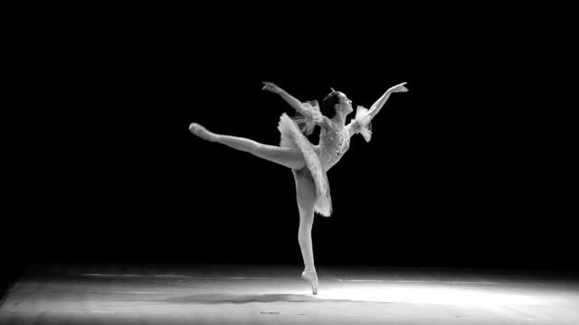 vídeos de stock, filmes e b-roll de clássico ballet - ballerina