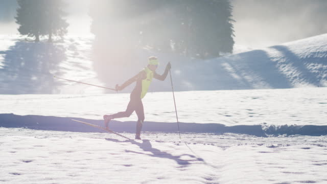Classical cross country skiing