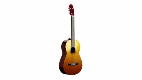klassiskt guitarspin med luma matt - musikinstrument bildbanksvideor och videomaterial från bakom kulisserna