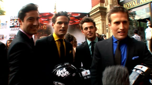 classical brit awards 2010 howard goodall photocall with unidentified group of women/ 'blake' photocall four members of 'blake' interview sot on... - howard goodall stock videos and b-roll footage
