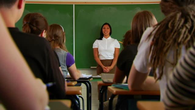 Classroom Hands Raised 3