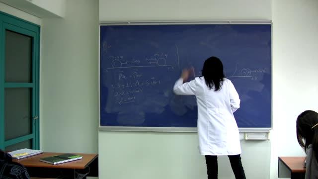 classroom - mathematics stock videos and b-roll footage