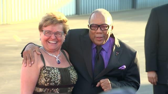 Claude Mann Quincy Jones at the The Alfred Mann Foundation's Annual BlackTie Gala at Santa Monica CA