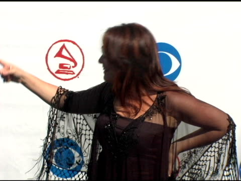 claudia brant at the 2004 latin grammy awards arrivals at the shrine auditorium in los angeles, california on september 1, 2004. - latin grammy awards stock videos & royalty-free footage
