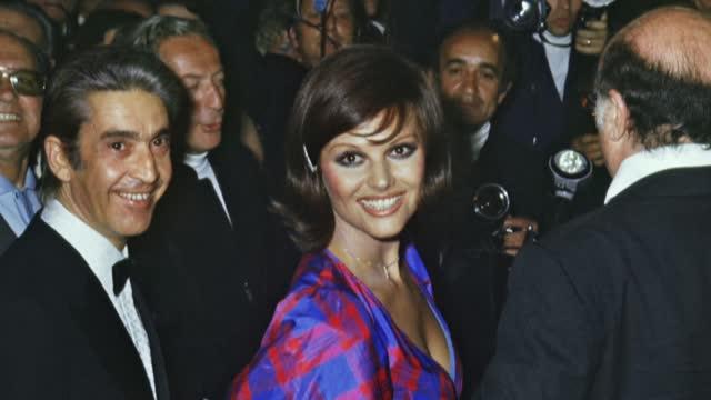 FRA: LONG PROFILE: Italian actress, Claudia Cardinale