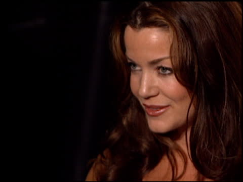Claudia Christian at the FHM Magazine 100 Sexiest Women at La Boheme in West Hollywood California on May 17 2001
