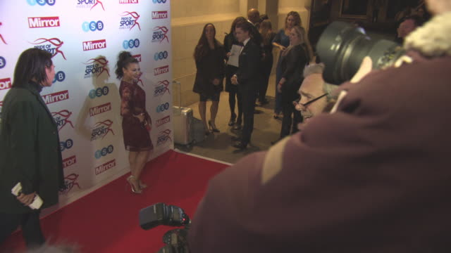Claudia Fragapane at Daily Mirror Pride of Sport Awards on December 07 2016 in London England