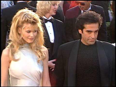 claudia schiffer at the 1996 academy awards arrivals at the shrine auditorium in los angeles california on march 25 1996 - 68th annual academy awards stock videos and b-roll footage