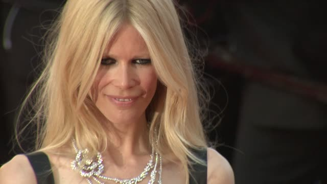 Claudia Schiffer at the 'This Must Be The Place' Premiere during the 64th Cannes Film Festival at the This Must Be the Place Red Carpet Arrivals 64th...