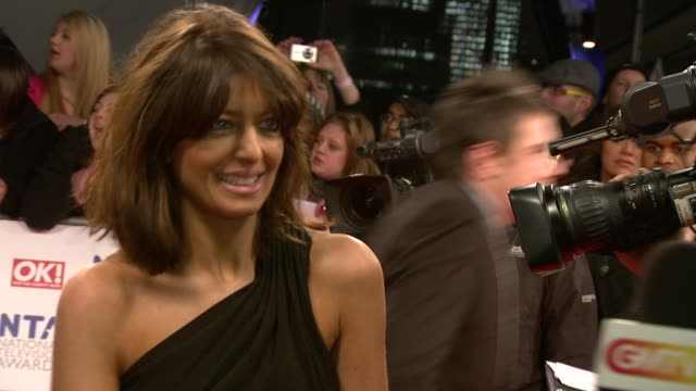 claudia winkleman at the national tv awards 2010 at london england - claudia winkleman stock-videos und b-roll-filmmaterial