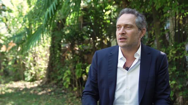 ITA: Claudio Santamaria and Franz Rogowski of Freaks Out interview - 78th Venice International Film Festival