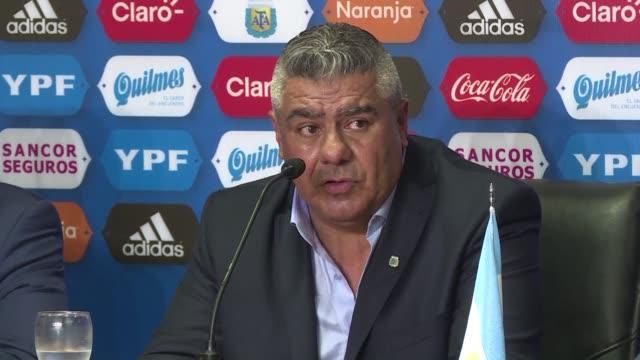 claudio tapia fue elegido el miercoles como nuevo presidente de la asociacion del futbol argentino - sindicatos stock videos & royalty-free footage
